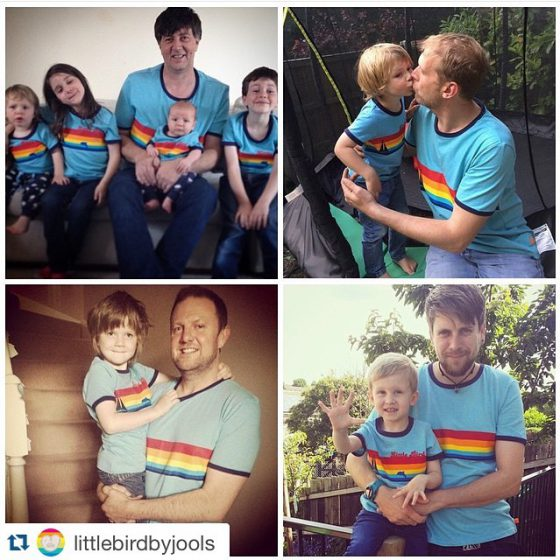 I loved it and so did Little Bird, who chose it to be part of their Father's Day post last year.