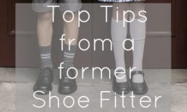 Top Tips from a former Shoe Fitter