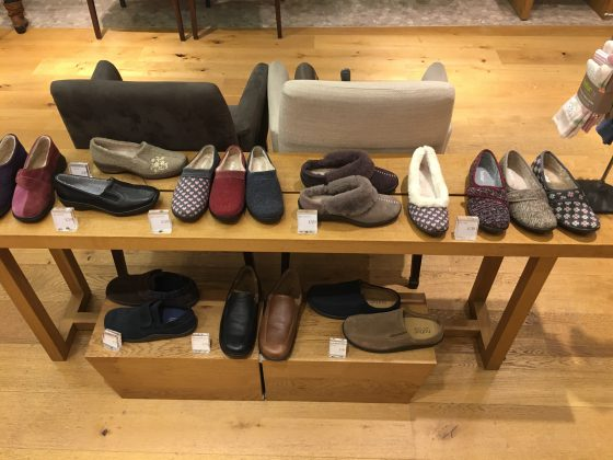 Hotter Shoes started in 1959 selling Slippers, which still form part of their core stock